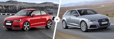 compare audi a3 and a4 audi a1 vs a3 side by side comparison carwow