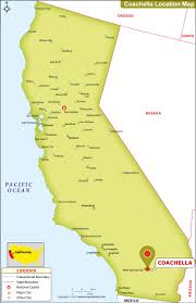 California Zip Code Map by Where Is Coachella In California Where Is Coachella