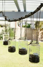 Outdoor Chandelier Diy Diy Outdoor Mason Jar Chandelier Diy Inspired