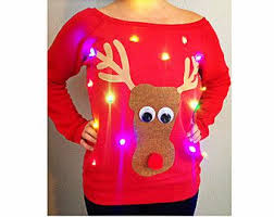 Ugly Christmas Sweater With Lights Best 25 Womens Ugly Christmas Sweater Ideas On Pinterest Diy