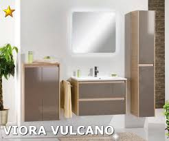 badezimmer fackelmann fackelmann badmöbel viora vulcano grau set 6 beckenwahl