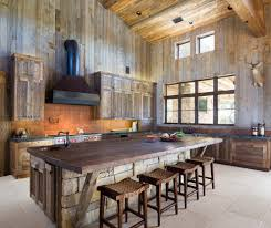 Rustic Cabinets Kitchen Barn Wood Cabinets Kitchen Rustic With Island Traditional Faucets