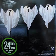 amazon com 3 cloth ghost lawn stake path lights halloween yard