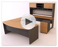 ameriwood furniture pursuit l shaped desk with hutch bundle natural