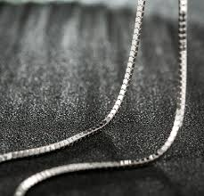 chain necklace style images Fashion simple men 925 silver snake chain necklace no pendants png