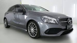2016 mercedes benz a200 w176 807my d ct mountain grey 7 speed