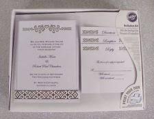 Diy Wedding Invitations Kits Diy Wedding Invitations Ebay