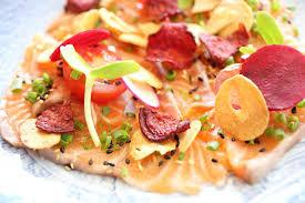 canap entr s froides recettes de noël au saumon les entrées froides parfaites au menu