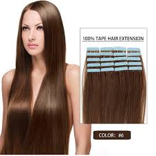 16 inch hair extensions 16 inch light brown 6 20s in remy human hair