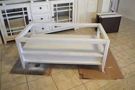 how to turn a u201cplain jane coffee table u201d farmhouse style