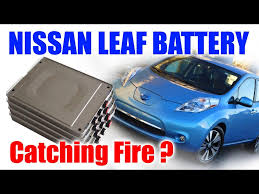 nissan leaf ads my e life now nissan leaf battery pouch cells fire and