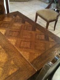 Brittany France Circa  Carved Dining Room Table And Six Chairs - Pull out dining room table