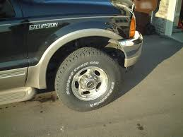Bf Goodrich Rugged Trail Tires 2000 Ford Excursion Bf Goodrich Rugged Trail T A Tires Picture