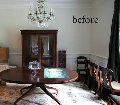 Paint Dining Room Table Painted Dining Room Set Dining Table And Chairs Makeover With