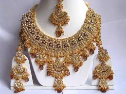 indian bridal necklace sets images Indian bridal jewelry set view specifications details of jpg