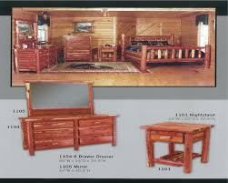Cabin Bedroom Furniture Manataka Ozark Cedar Furniture Cabin Ranch Lake Home Lodge