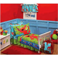 Elmo Bedding For Cribs Elmo Toddler Bedding Set Oohsocute
