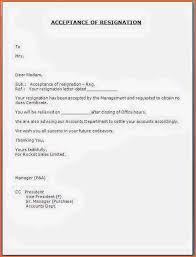 11 resignation letter format budget template letter