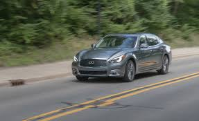 2017 infiniti q70l 5 6 awd test review car and driver