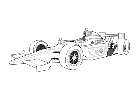 formula one clipart kid car pencil and in color formula one