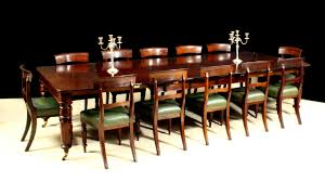 Antique Dining Sets Antique Dining Table With Matching Set Of Twelve Dining Chairs