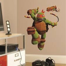 teenage mutant ninja turtles michelangelo giant wall decal wall2wall