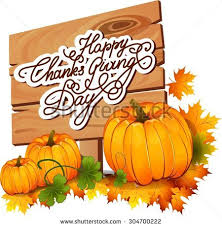 happy thanksgiving day banner stock vector 304700210