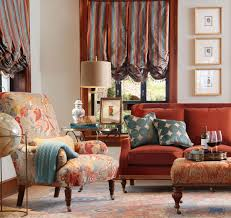 Upholstery Fabric For Chairs by Interior Entrancing Living Room Decoration With Calico Corner