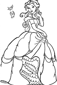 download bella coloring pages ziho coloring