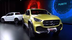 mercedes pickup mercedes benz x class pickup concepts revealed