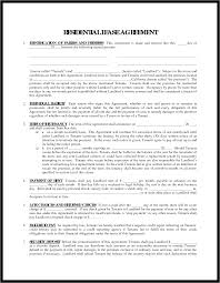 Free Lease Agreement Printable Blank Lease Agreement Form Divorce Decree Sample P L