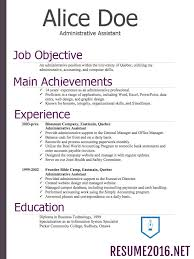 functional resume samples 2016 experience resumes