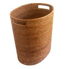 Wastepaper Basket Fine Oval Waste Paper Basket With Metal Liner Kosmopolitan