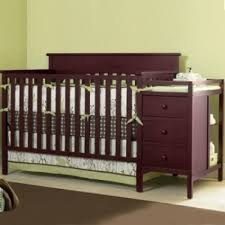 3 In 1 Mini Crib Sorelle Newport 3 In 1 Mini Convertible Crib In Merlot