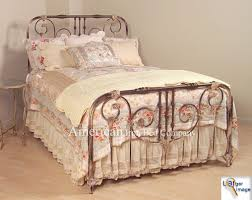 Iron Headboard And Footboard by Best Vintage Iron Headboards 77 For Your Queen Headboard And