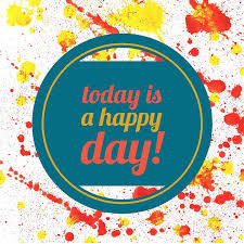 free illustration happiness happy day paint text free image