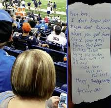 a lions fan busted a s for at the