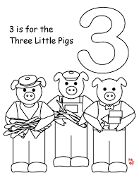 three little pigs coloring pages coloringsuite com