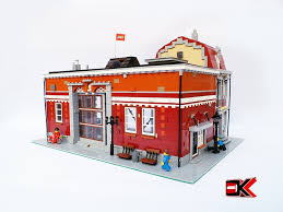 lego ideas modular garage building