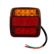 led trailer tail lights auto 26 led led trailer tail lights rear turn signal truck trailer