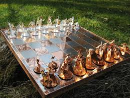 coolest chess sets chess set of dragons by obiskus on deviantart