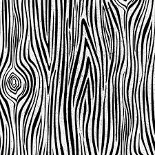 White Wood Grain Onyx Woodgrain Fabric By The Yard Black Fabric Carousel Designs