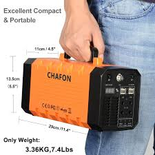amazon com chafon 346wh portable ups battery backup rechargeable
