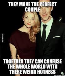 Benedict Cumberbatch Meme - natalie dormer benedict cumberbatch 9gag