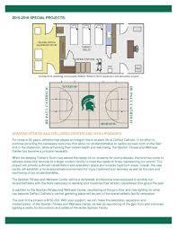 rehabilitation center floor plan depaul catholic high