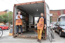 book of shipping container woodworking shop in germany by michael