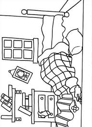 bedroom coloring pages coloring
