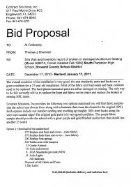 construction proposal template free cleaning proposal forms