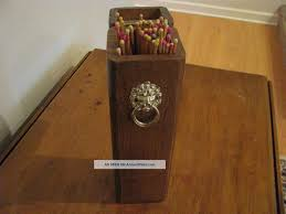 antique match holders
