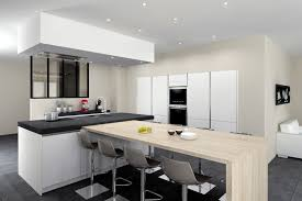 modele de cuisine avec ilot modele de decoration de cuisine fabulous armoires de cuisine